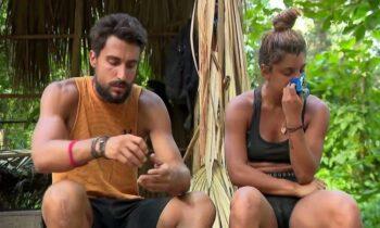 Survivor: Η Μαριαλένα Ρουμελιώτη, έχει κουραστεί και σκέφτεται να φύγει από το Survivor, με τον Σάκη να προσπαθεί να την κρατήσει.