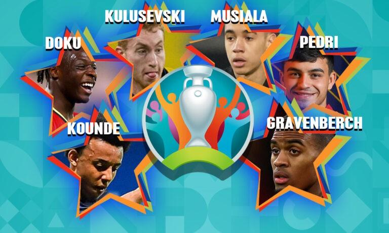 Euro 2020: Τα έξι «διαμαντάκια» που περιμένουμε να… λάμψουν!