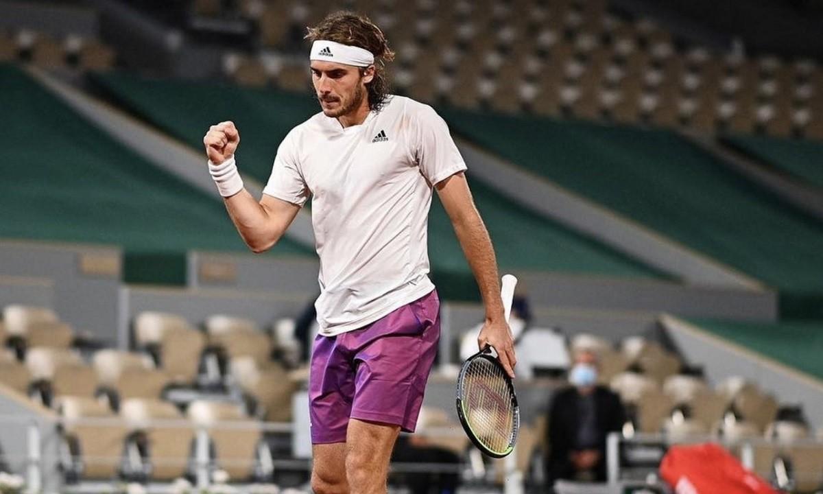 Τσιτσιπάς – Ζβέρεφ 1-0: Έκανε το πρώτο βήμα για τον μεγάλο τελικό του Roland Garros ο Στέφανος