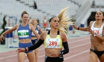 Η Ειρήνη Βασιλείου επικράτησε στα 400μ. κάνοντας την επίθεσή της μετά το βιράζ στην Ανδριάνα Φέρρα και τερμάτισε σε 52.89.