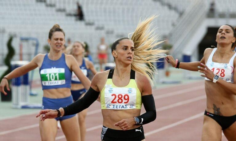 Πανελλήνιο 2021: Η Ειρήνη Βασιλείου τη νίκη στα 400μ.
