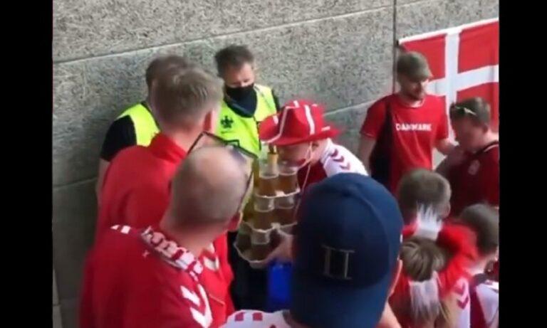 Euro 2020: Δανός «έσπασε» τα κοντέρ με 12 μπύρες και έγινε Viral