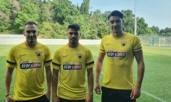 Ενσωματώθηκαν στην προετοιμασία στην Πορταριά οι τρεις διεθνείς της ΑΕΚ που απουσιάζαν, ενώ αναμένεται αύριο να μπει και ο Πέτρος Μάνταλος.