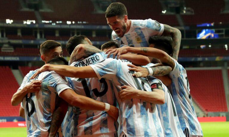 Αργεντινή – Ουρουγουάη 1-0: Η «Αλμπισελέστε» το τρίποντο στο Clasico του Copa America! (vid)