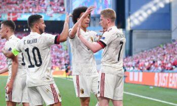 Euro 2020 Δανία - Βέλγιο 1-2: Πρόκριση με ανατροπή - Μαγικά ο Ντε Μπρόινε