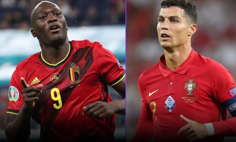 Euro 2020 – Βέλγιο – Πορτογαλία: Οι ενδεκάδες του μεγάλου παιχνιδιού (pics)