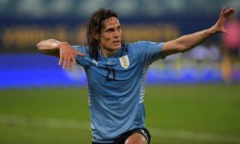 Την πρώτη της νίκη στο Copa America πανηγύρισε η Ουρουγουάη, η οποία επικράτησε με 2-0 της Βολιβίας και κλείδωσε την πρόκριση στους «8».