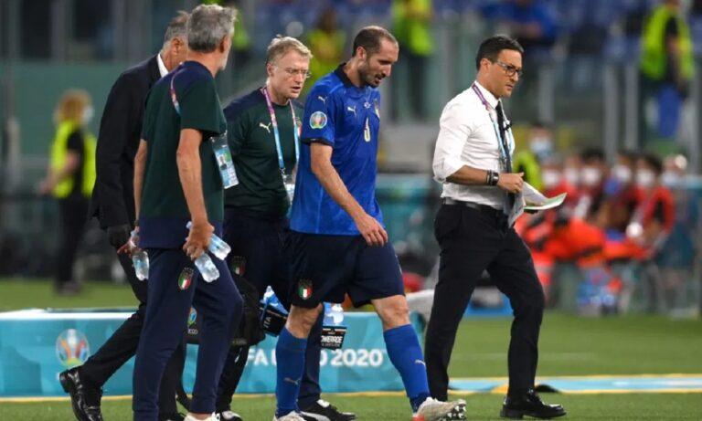 Euro 2020 – Εθνική Ιταλίας: Χωρίς Κιελίνι με Ουαλία, ανησυχία για τον τραυματισμό του