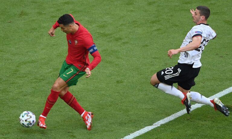 Euro 2020 – Πορτογαλία – Γερμανία: Ζότα μοιράζει, Ρονάλντο σκοράρει για το 1-0 (vid)