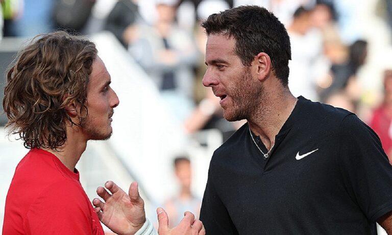 Τσιτσιπάς: Το μήνυμα του Ντελ Πότρο για τον τελικό του Roland Garros