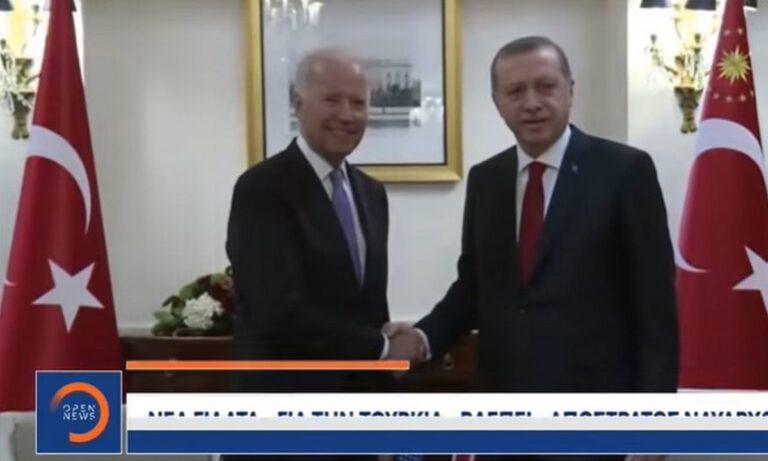 Ελληνοτουρκικά: O Ρετζέπ Ταγίπ Ερντογάν συναντήθηκε με τον Τζο Μπάιντεν αλλά δεν μίλησαν για το θέμα των Αρμενίων.