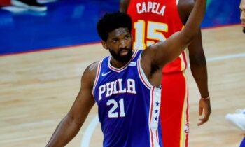 NBA Αποτελέσματα: Αδιανόητος Εμπίιντ έφερε τη σειρά με τους Χοκς στο 1-1 (vid)