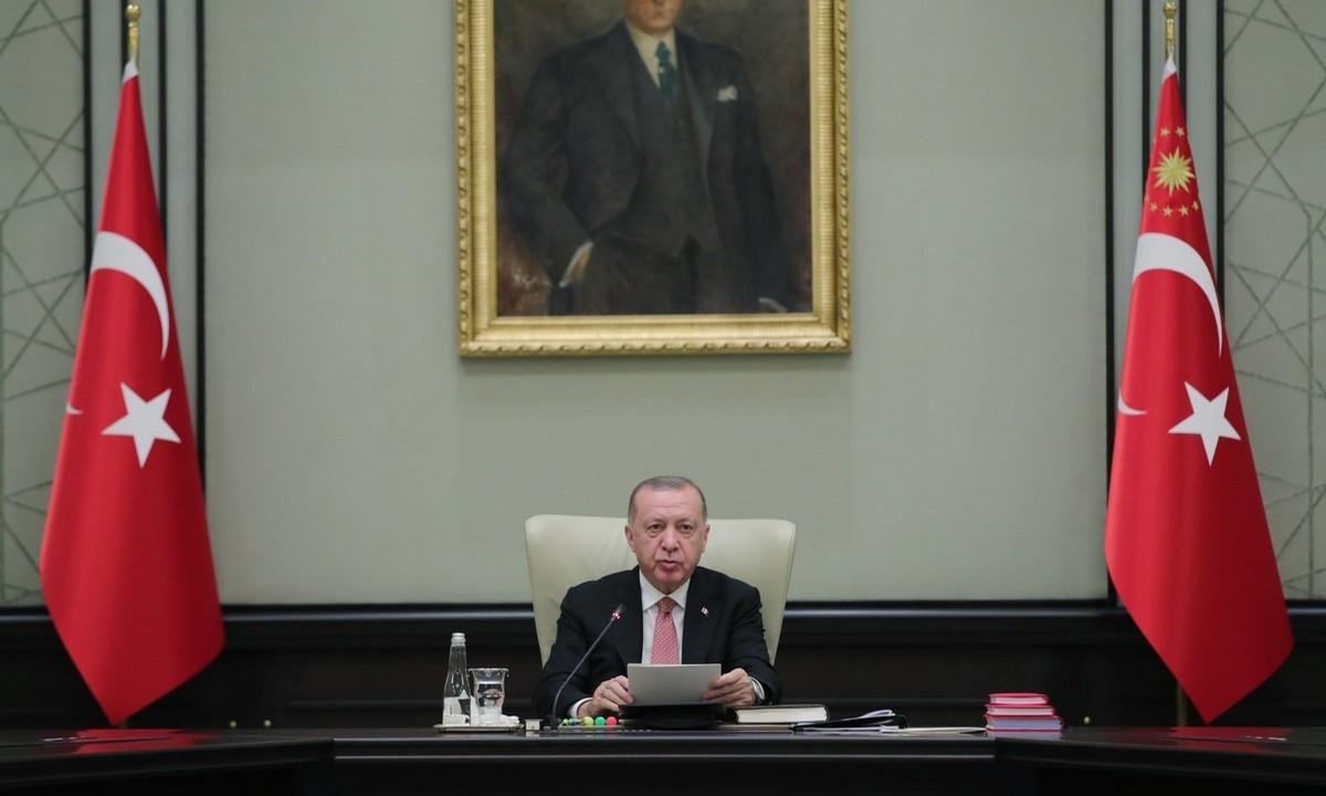 Ερντογάν: Ο πρόεδρος της Τουρκίας αναφέρθηκε τη Δευτέρα (21/6) στις συναντήσεις που είχε στη Σύνοδο του ΝΑΤΟ.