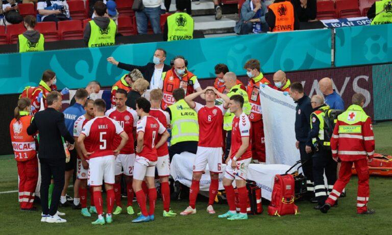 Euro 2020 – Έρικσεν: Είχε προειδοποιήσει η Παγκόσμια Ένωση Ποδοσφαιριστών την UEFA για το βαρύ πρόγραμμα