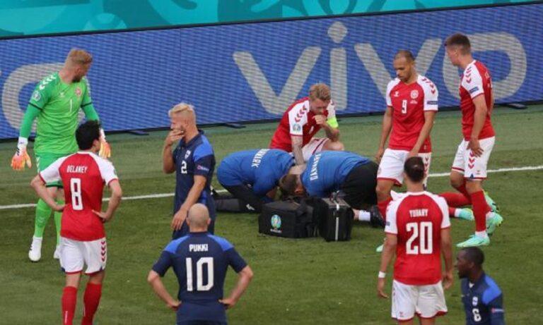 Euro 2020 – Λάουντρουπ: «Φοβάμαι ότι δεν θα ξαναπαίξει ο Έρικσεν»