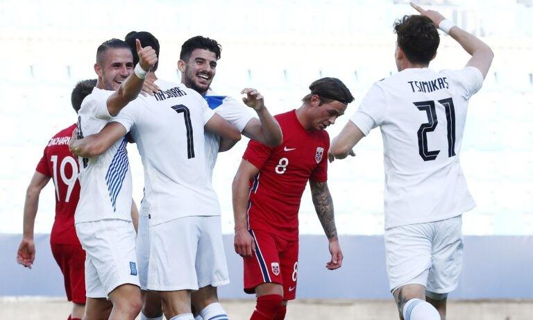 Νορβηγία – Ελλάδα 1-2: Της «κλείδωσε» τα ατού, με πάθος και πειθαρχία πήρε τη νίκη – Μασούρας και Ανδρούτσος τα γκολ!