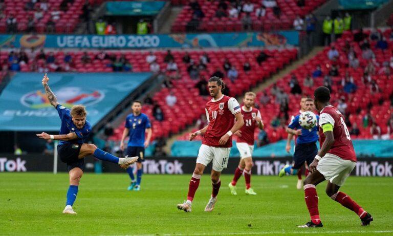 Euro 2020 Ιταλία – Αυστρία: Ο «κεραυνός» του Ιμόμπιλε σταμάτησε στο δοκάρι