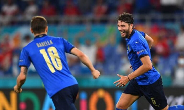 Euro 2020: Οι παίκτες της Ιταλίας το έριξαν στο…παιχνίδι (vid)