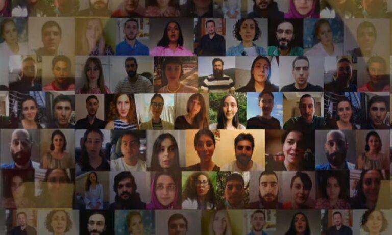 Βίντεο από γεωργιανή ενορία για την ανάρρωση του Γέροντα Εφραίμ