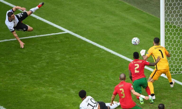 Euro 2020 – Πορτογαλία – Γερμανία:Το VAR ακύρωσε τη γκολάρα του Γκόσενς (vid)