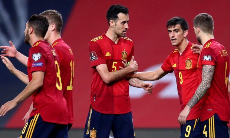 Η Εθνική Ισπανίας δεν φαίνεται να πτοείται από τα δύο κρούσματα κορονοϊού και επιστρατεύει τα μεγάλα μέσα ενόψει του Euro 2020.