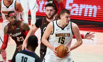 NBA αποτελέσματα: Ο Νίκολα Γιόκιτς με ένα απίθανο δεύτερο ημίχρονο και συνολικά 36 πόντους οδήγησε τους Νάγκετς στη νίκη με 126-115