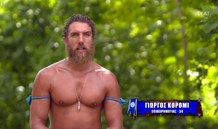 Survivor: Τρελά απογοητευμένος ο Κόρο, τα έβαλε με τον εαυτό του!