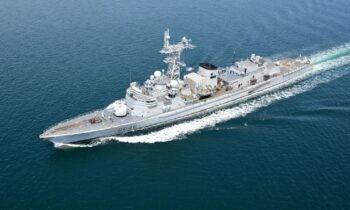 Φρεγάτες: Είχε διαλυθεί το πλοίο ενδιάμεσης λύσης που δίνουν οι Γάλλοι, η αντι-υποβρυχιακή φρεγάτα Latouche-Trévill.