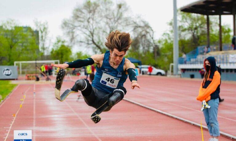 Μαλακόπουλος: Διέλυσε το Παγκόσμιο ρεκόρ στο άλμα εις μήκος ΑμεΑ