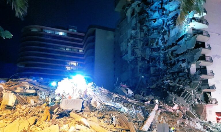 ΣΟΚ στο Μαϊάμι : Κατέρρευσε ξαφνικά 12όροφο κτήριο