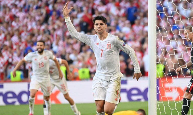 Euro 2020 – Κροατία – Ισπανία 3-5 (παρ.): Φεστιβάλ γκολ και οκτάδα 9 χρόνια μετά! (vid)