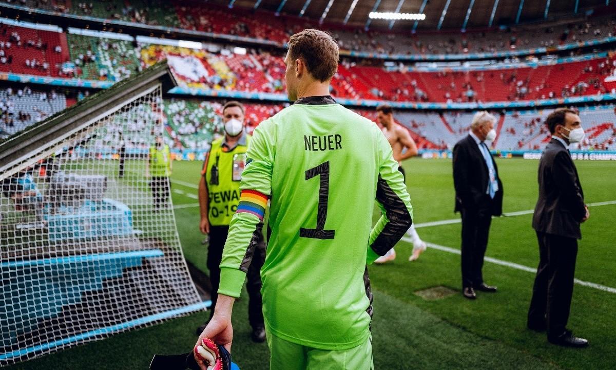 Euro 2020: Σε…μπελάδες ο Νόιερ για το περιβραχιόνιο στα χρώματα της ΛΟΑΤΚΙ κοινότητας
