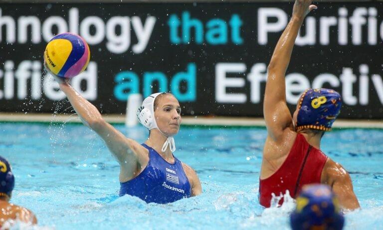 Εθνική πόλο γυναικών: Ήττα από την Ισπανία και 6η θέση στο World League
