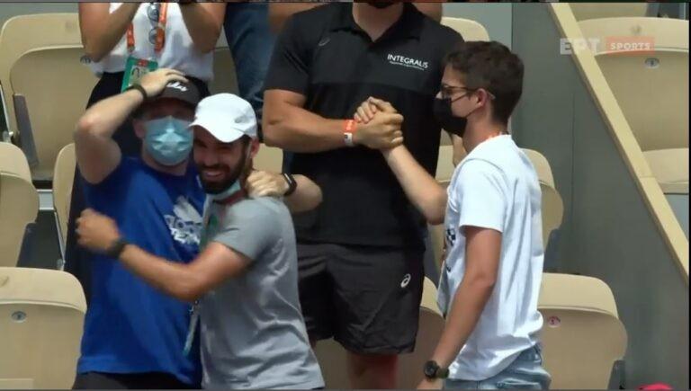 Με τον δικό του τρόπο έζησε ο Κωνσταντίνος Μητσοτάκης την μεγάλη πρόκριση της Μαρίας Σάκκαρη στα ημιτελικά του Roland Garros, μετά τη νίκη επί της Σφιόντεκ.