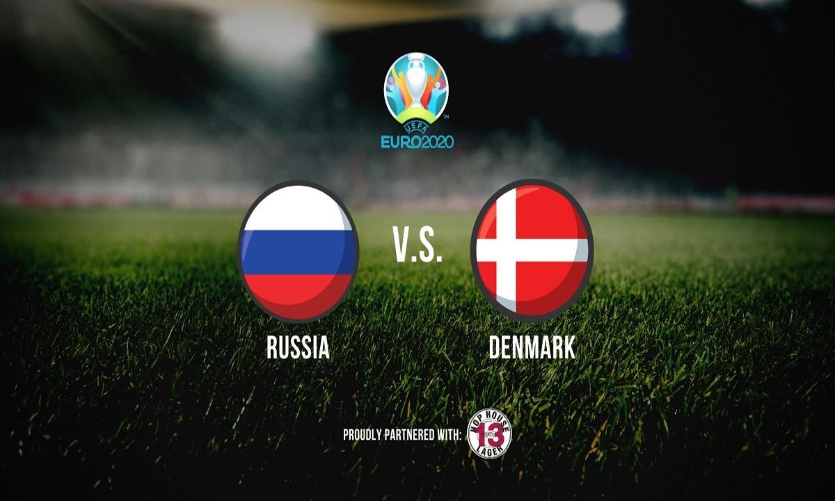 Euro 2020: Ρωσία – Δανία LIVE 1-4 (ΤΕΛΙΚΟ)