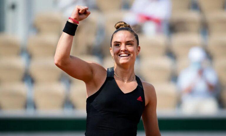 Σάκκαρη: Η εξαιρετική πορεία στο Roland Garros της άλλαξε τα σχέδια ενόψει Wimbledon