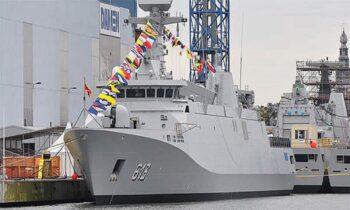 Φρεγάτες: Στις πρώτες τέσσερις θέσεις της αξιολόγησης του Πολεμικού Ναυτικού βρέθηκαν Ολλανδοί, Γάλλοι, Βρετανοί και Ισπανοί.