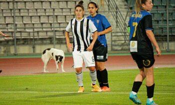 Ο ΠΑΟΚ κατέκτησε το 16ο πρωτάθλημα της ιστορίας του στην Α' Εθνική Γυναικών, με την Αναστασία Σπυριδωνίδου να πετυχαίνει το γκολ της χρονιάς στον τελικό.