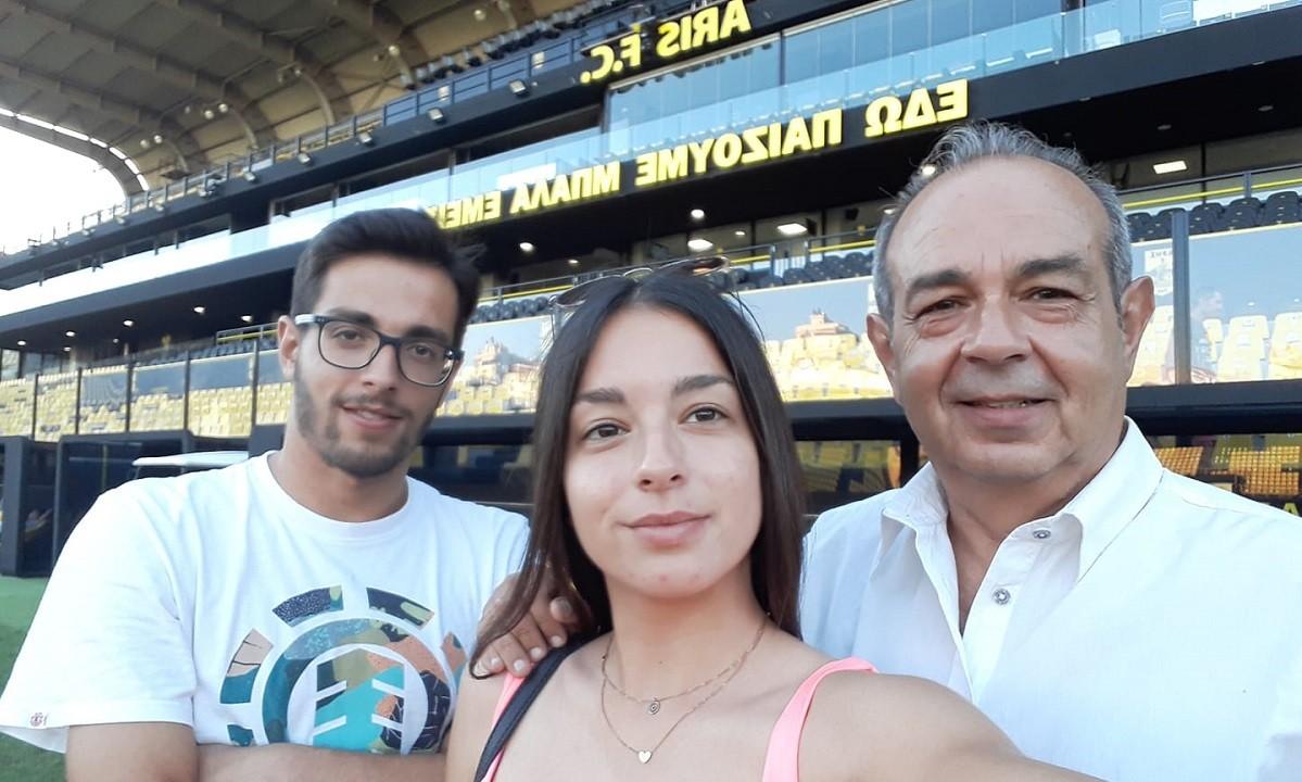 Σταματιάδης: «Γιατί όχι τουρνουά τένις στο Βικελίδης; Μπορούν να έρθουν Τσιτσιπάς, Σάκκαρη! Τα πάει καλά ο Καρυπίδης»
