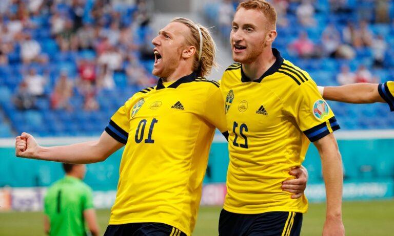 Euro 2020 Σουηδία – Πολωνία 3-2: Στην κορυφή με φοβερό Φόρσμπεργκ – Ο Λεβαντόφσκι το πάλεψε, αλλά…