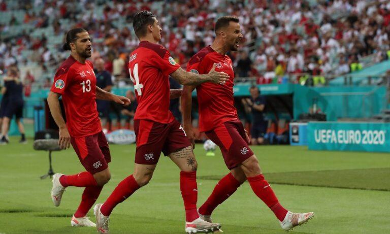 Euro 2020 Ελβετία – Τουρκία 3-1: Της έκανε πλάκα με σούπερ Σακίρι, αλλά θα περιμένει