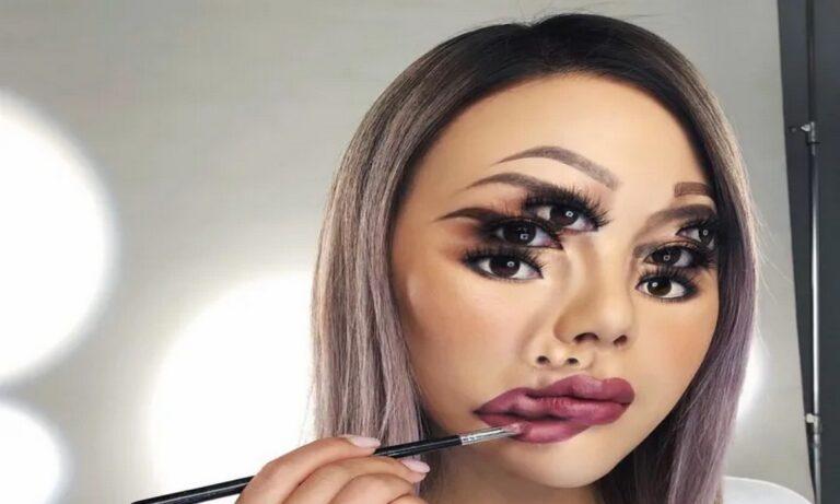 TikTok: Η οφθαλμαπάτη – μακιγιάζ που θα σου μπερδέψει το μυαλό