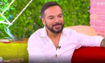 Ο Τριαντάφυλλος έκανε πολλές αποκαλύψεις στην εκπομπή Love it και μεταξύ άλλων μίλησε για τη σχέση που έχουν ο Σάκης κι η Μαριαλένα.