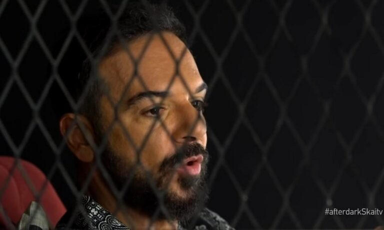 Survivor 26/6: Ο Τριαντάφυλλος βρέθηκε στο τελευταίο After Dark και συνάντησε τον Θέμη Γεωργαντά στον ΣΚΑΪ τη νύχτα της Παρασκευής.
