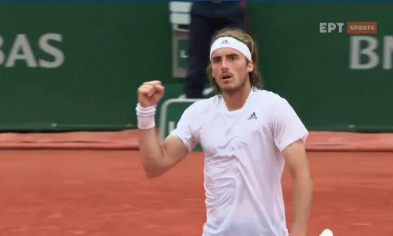 Τσιτσιπάς: Άνετα στον 3ο γύρο του Roland Garros, «σκούπισε» τον  Μαρτίνεθ