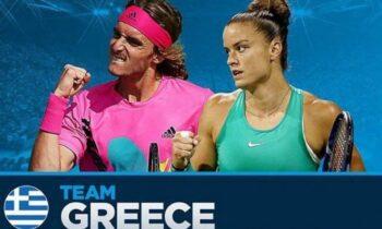 Επίσημα, με τη σφραγίδα της Διεθνούς Ομοσπονδίας-ITF, o Στέφανος Τσιτσιπάς και η Μαρία Σάκκαρη προκρίθηκαν στο Τόκιο.