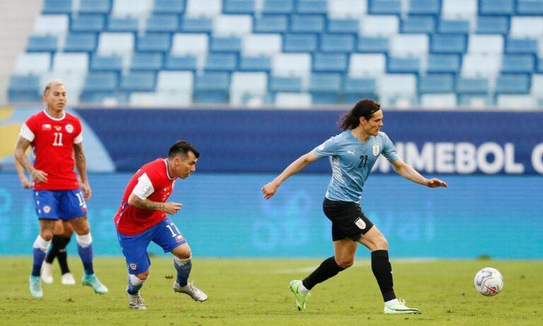 Copa America 2021: Ουρουγουάη – Χιλή 1-1: Πήρε τον πρώτο της βαθμό η… παρέα του Σουάρες!