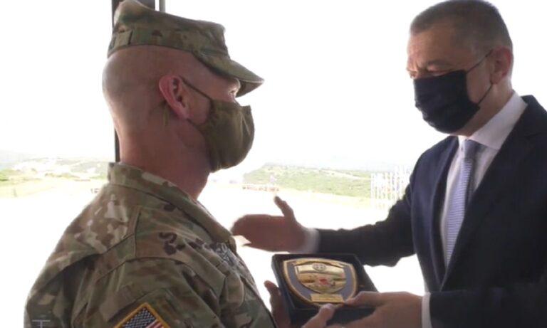 ΣΟΚαρισμένος Αμερικανός Στρατηγός από αυτά που είδε από τις 17 Μαΐου έως τις 24 Μαΐου, στη διμερή ασκηση «ΚΕΝΤΑΥΡΟΣ 21».