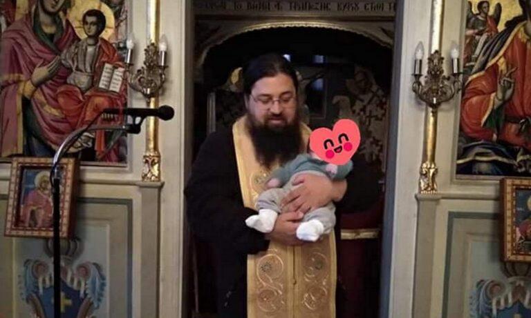 Ο Πάτερ Βησσαρίων έχασε το αγγελούδι του από ιατρικό λάθος