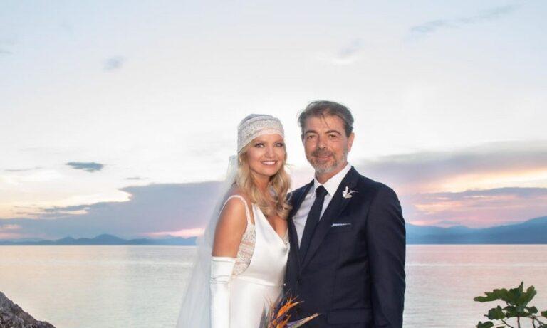 Παναγιώτα Βλαντή: Δείτε τις εντυπωσιακές φωτογραφίες από τον γάμο της